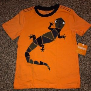NWT Gymboree lizard shirt